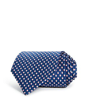 Salvatore Ferragamo - Lalla Strawberry Silk Classic Tie