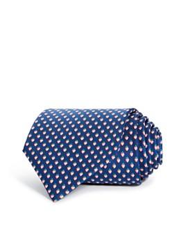 Salvatore Ferragamo - Lalla Strawberry Silk Classic Tie