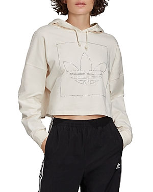 adidas Cotton Cropped Hoodie