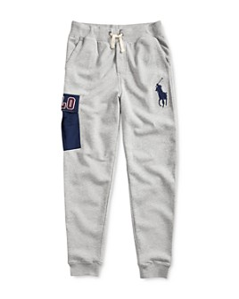 Ralph Lauren - Boys' Logo Pocket Jogger Pants - Big Kid