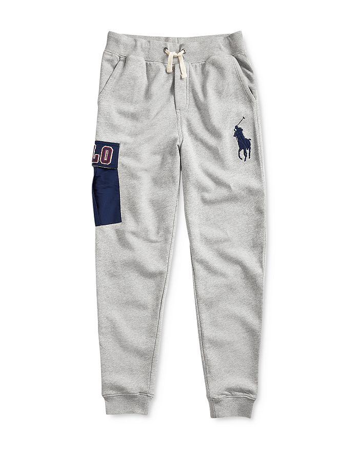 Ralph Lauren - Boys' Logo Pocket Jogger Pants - Big Kid