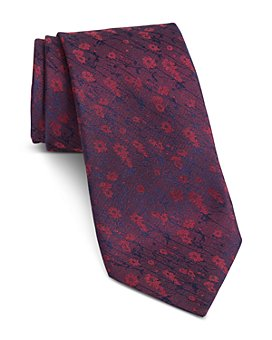 John Varvatos Star USA - Fillmore Faded Floral Classic Tie