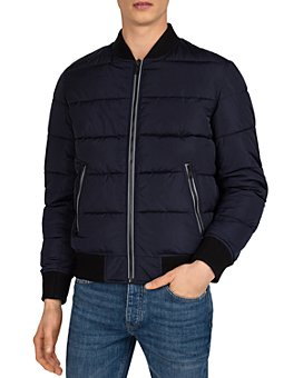 The Kooples - Quilted Bomber Jacket