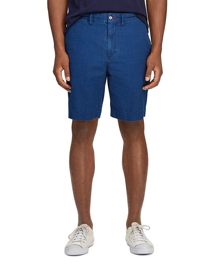 Polo Ralph Lauren - Classic Fit Indigo Seersucker Shorts