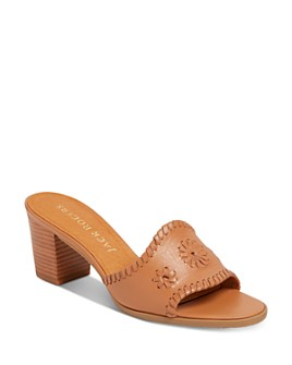 Jack Rogers - Women's Rory Slip On Mid-Heel Sandals