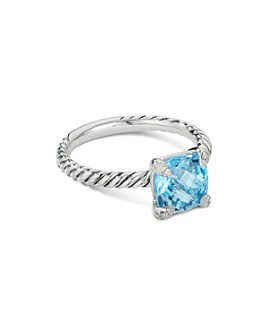 David Yurman - Châtelaine® Ring with Gemstones and Diamonds