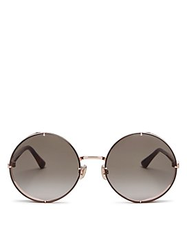 Jimmy Choo - Women's Lilo Round Sunglasses, 58mm
