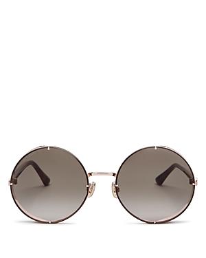 Jimmy Choo Women\\\'s Lilo Round Sunglasses, 58mm-Jewelry & Accessories