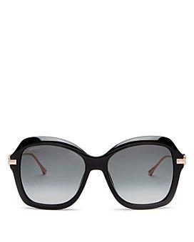 Jimmy Choo - Women's Tessy Square Sunglasses, 56mm