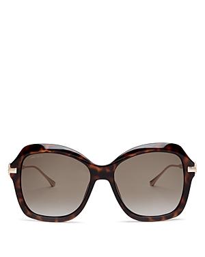 Jimmy Choo Women's Tessy Oversized Sunglasses, 56mm
