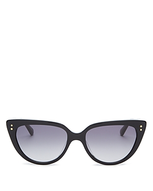 kate spade new york Women's Alijah Cat Eye Sunglasses, 53mm
