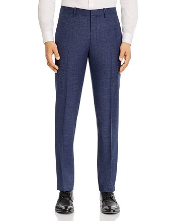 Theory - Mayer Melange Solid Slim Fit Suit Pants