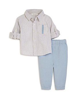 Miniclasix - Boys' Striped Shirt & Pants Set - Baby