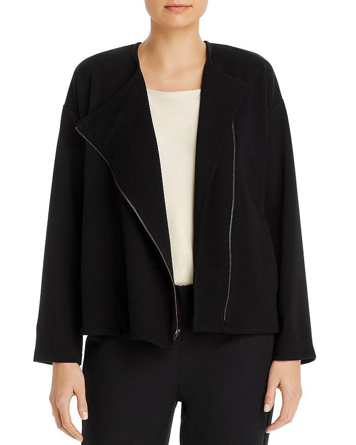 Eileen Fisher - Round Neck Jacket