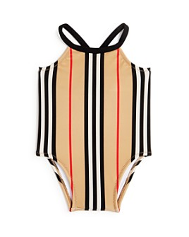 Burberry - Girls' Icon Stripe Swimsuit - Baby