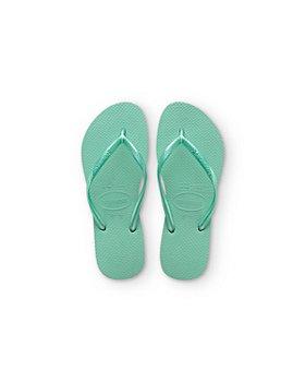 havaianas - Havaianas Girls' Slims Sandals - Sizes 7-12 Toddler; 13, 1-3 Child