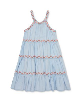 GIRLS RED /& WHITE STRIPE LACE TRIM RUFFLE RA RA DANCE PROM PARTY DRESS with BELT