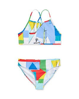 Ralph Lauren - Girls' Abstract Print Two-Piece Swimsuit - Big Kid