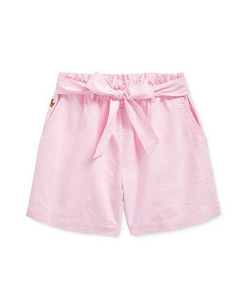 Ralph Lauren - Girls' Oxford Shorts - Big Kid
