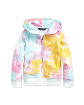 Ralph Lauren - Girls' Tie-Dyed Hoodie - Little Kid