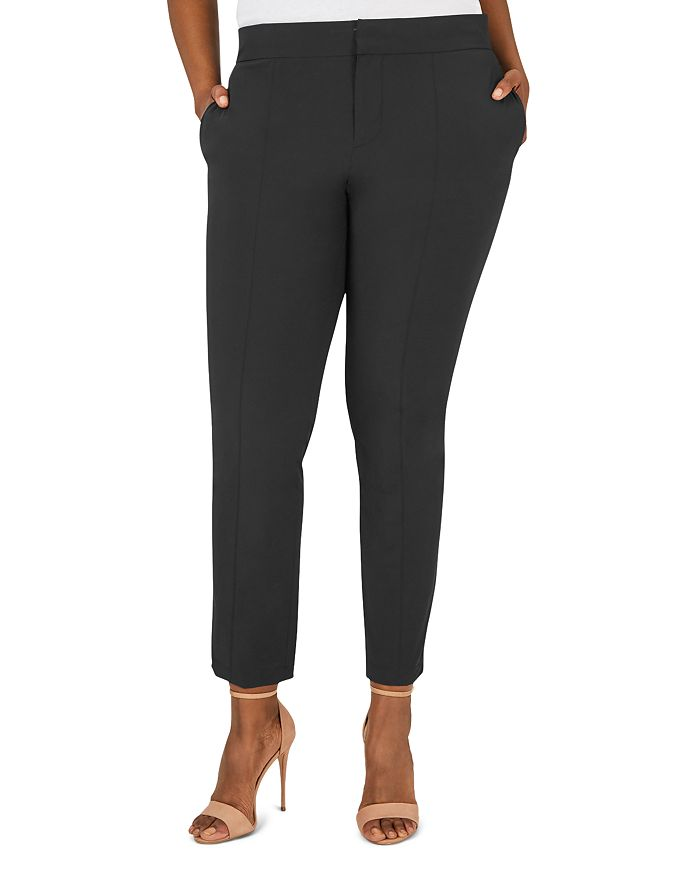 Foxcroft Plus - Vegas Slim-Leg Stretch Pants