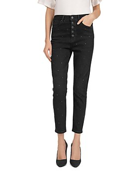 The Kooples - Lizy Button-Fly Jeans