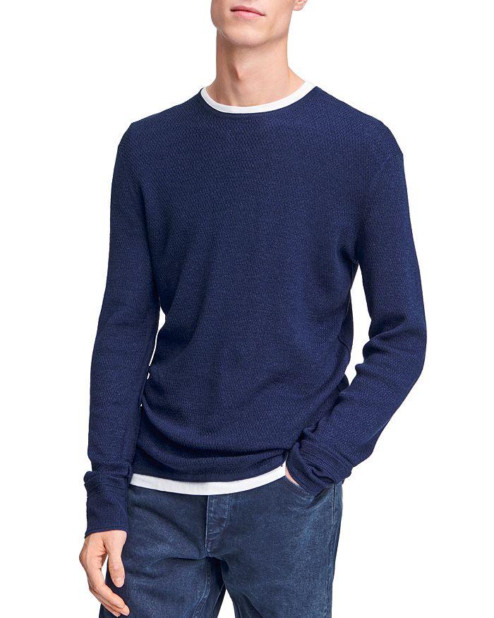 rag & bone - Davis Crewneck Thermal Sweater
