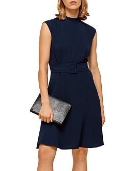 Whistles - Sleeveless Belted Dress