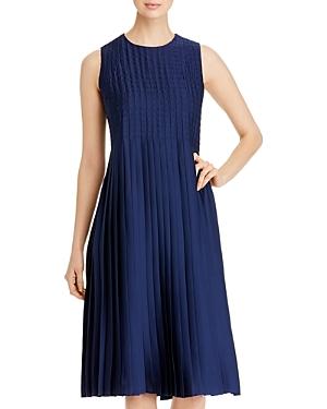 Lafayette 148 New York Kendrick Pleated Dress-Women