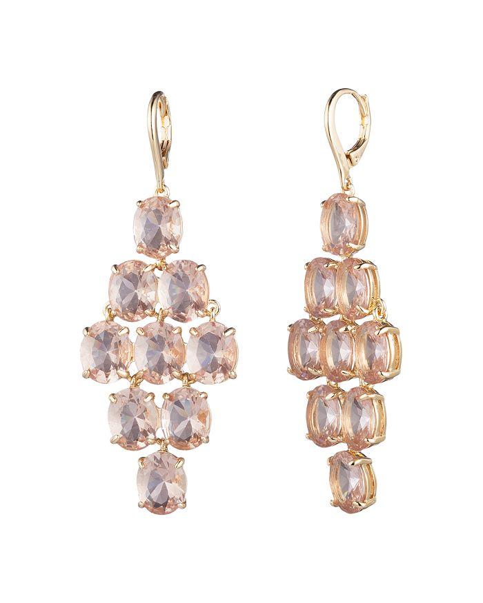 Ralph Lauren - Gold-Tone Stone Chandelier Earrings