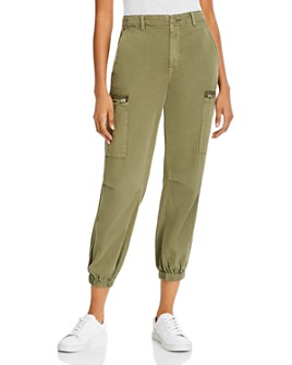 BLANKNYC - Cotton Cropped Cargo Pants
