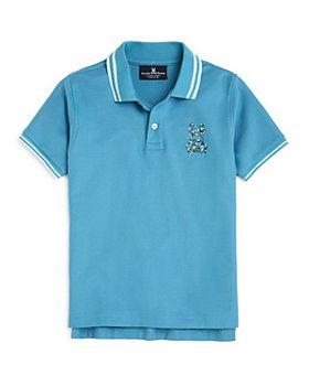 Psycho Bunny - Boys' Paget Cotton Tipped Logo Polo Shirt - Little Kid, Big Kid
