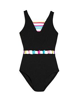 Peixoto - Girls' The Jade Strappy One-Piece Swimsuit, Little Kid, Big Kid - 100% Exclusive