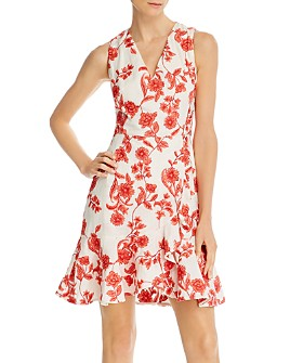 Rebecca Taylor - Embroidered Floral Dress