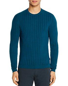 Armani - Textured Knit Sweater