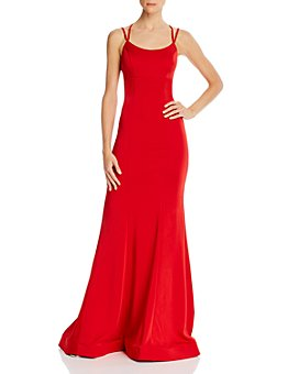 Faviana Couture - Lace-Up Gown