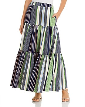 Tory Burch - Printed Maxi Skirt