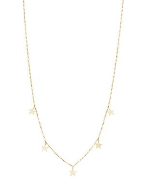 Gorjana 18K Gold-Plated Super Star Adjustable Flutter Necklace, 16-Jewelry & Accessories