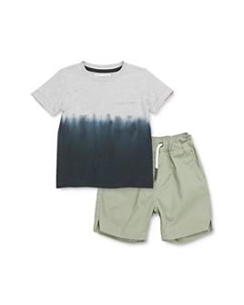 Sovereign Code - Boys' Segundo Dip-Dyed Pocket Tee & Gateway Jogger Shorts Set - Baby