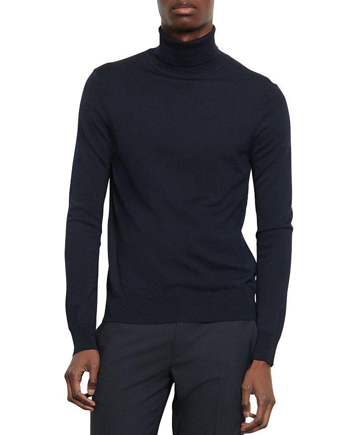 Sandro - Turtleneck Slim Fit Sweater