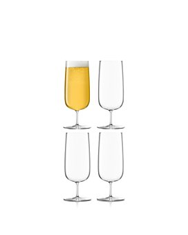 LSA - Borough Pilsner Glasses, Set of 4