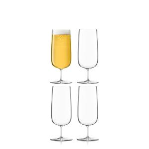 Lsa Borough Pilsner Glasses, Set of 4