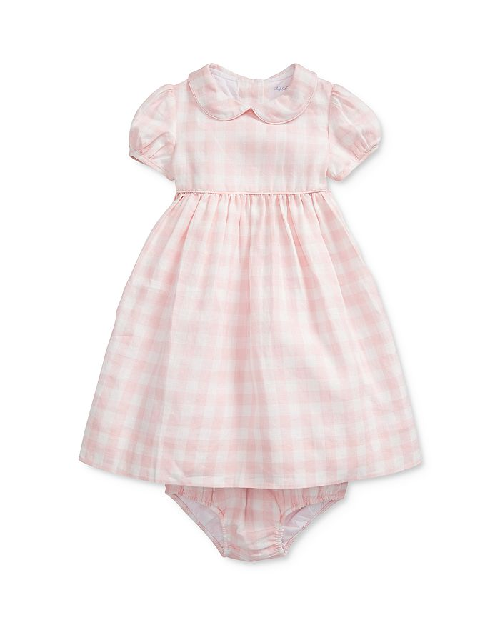Ralph Lauren - Girls' Gingham Fit-and-Flare Dress & Bloomers Set - Baby