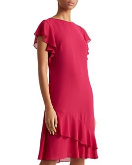 Ralph Lauren - Ruffle-Trim Shift Dress
