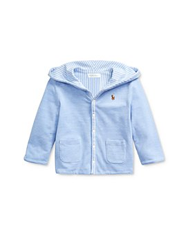 Ralph Lauren - Boys' Cotton Oxford Reversible Hooded Jacket - Baby