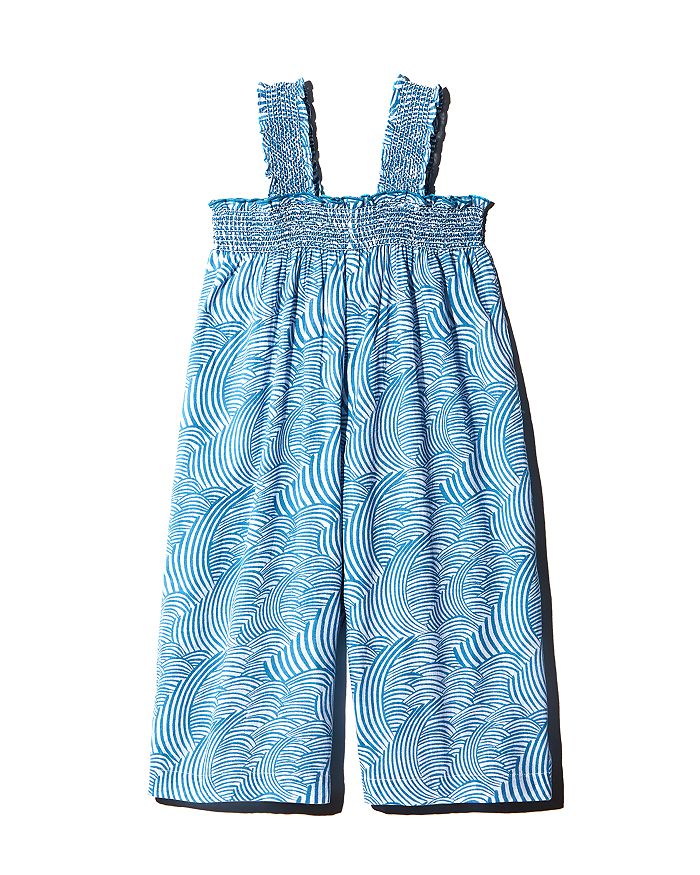 Pink Chicken - Girls' Eleven Cotton Printed Jumpsuit - Little Kid