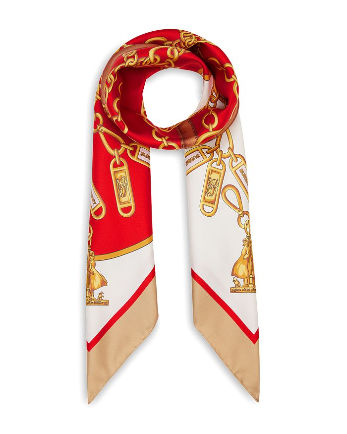 Burberry - Archive Scarf Print Silk Square Scarf