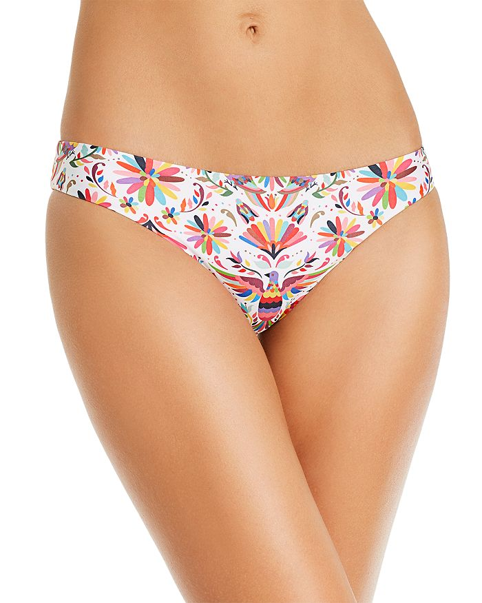 Verdelimon Tunas Printed Bikini Bottom In Tapiz