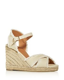 Castañer - Women's Bromelia Espadrille Wedge Sandals