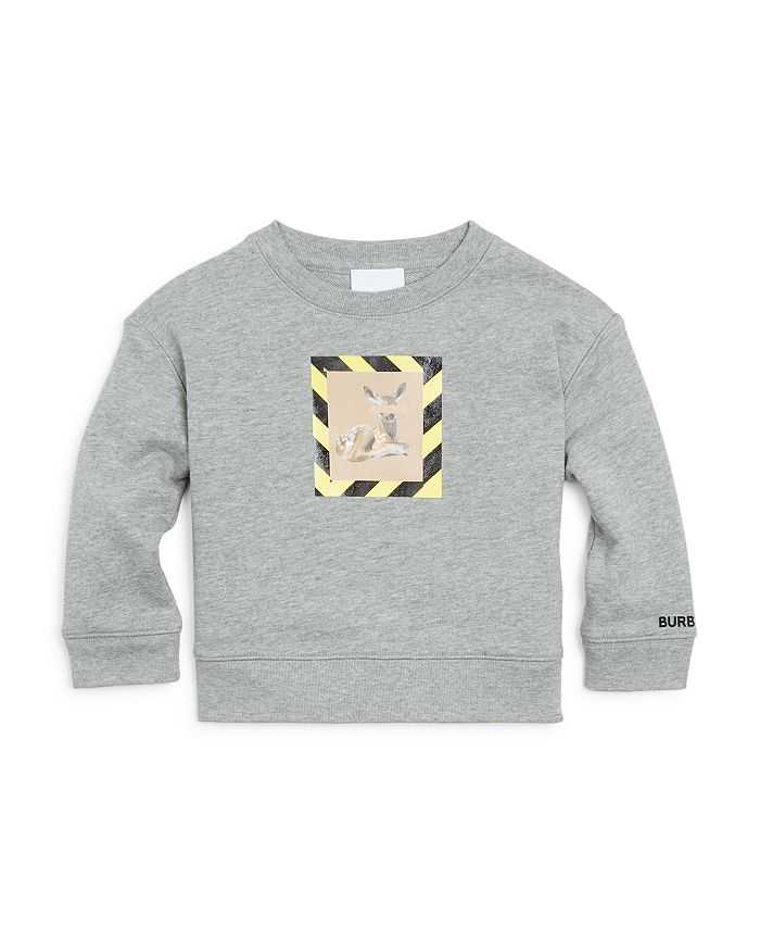 Burberry - Boys' Elbrook Deer Print Sweatshirt - Little Kid, Big Kid